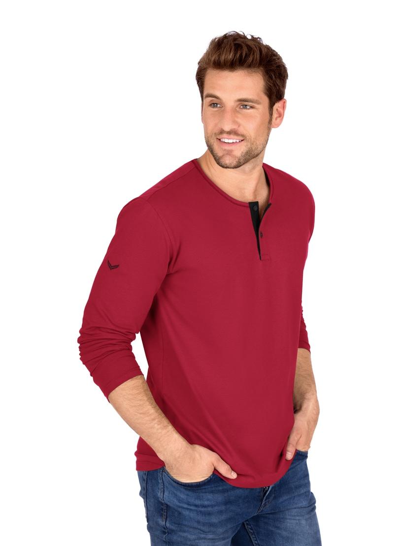 trigema -  Langarmshirt, aus Biobaumwolle