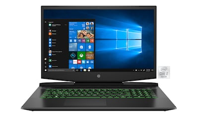 HP Pavilion 17 - cd1273ng Gaming - Notebook (43,9 cm / 17,3 Zoll, Intel,Core i7, 1000 GB HDD, 256 GB SSD) kaufen