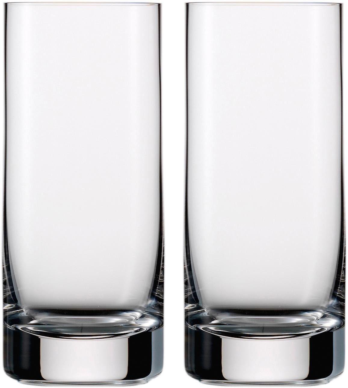 Eisch Longdrinkglas Jeunesse, (Set, 2 tlg.), mundgeblasenes Kristallglas, 460 ml farblos Kristallgläser Gläser Glaswaren Haushaltswaren