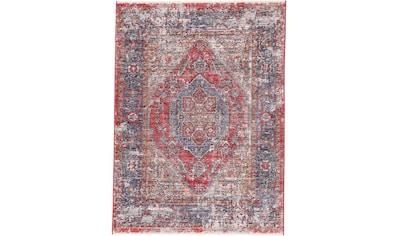 carpetfine Teppich »Phoenix Vintage«, rechteckig, 6 mm Höhe, Vintage Look, Wohnzimmer kaufen