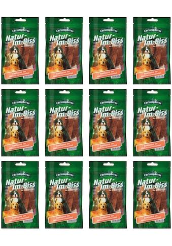 Christopherus Hundesnack »Seelachs-Hähnchen Mischung«, (12), 12 x 70 g kaufen