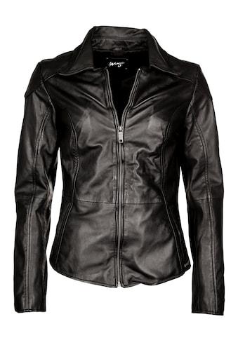 MAZE Lederjacke mit Hemdkragen »Lucy« kaufen