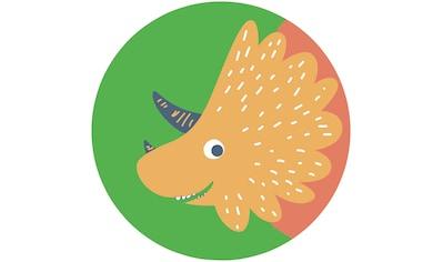 Komar Fototapete »Little Dino Trice«, bedruckt-Comic-Retro-mehrfarbig, BxH: 128x128... kaufen