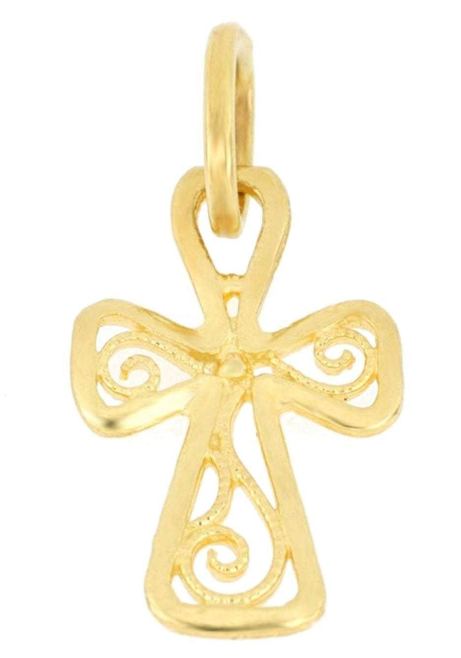 Firetti Kettenanhänger Kreuz glänzend ziseliert   Schmuck > Halsketten   Firetti