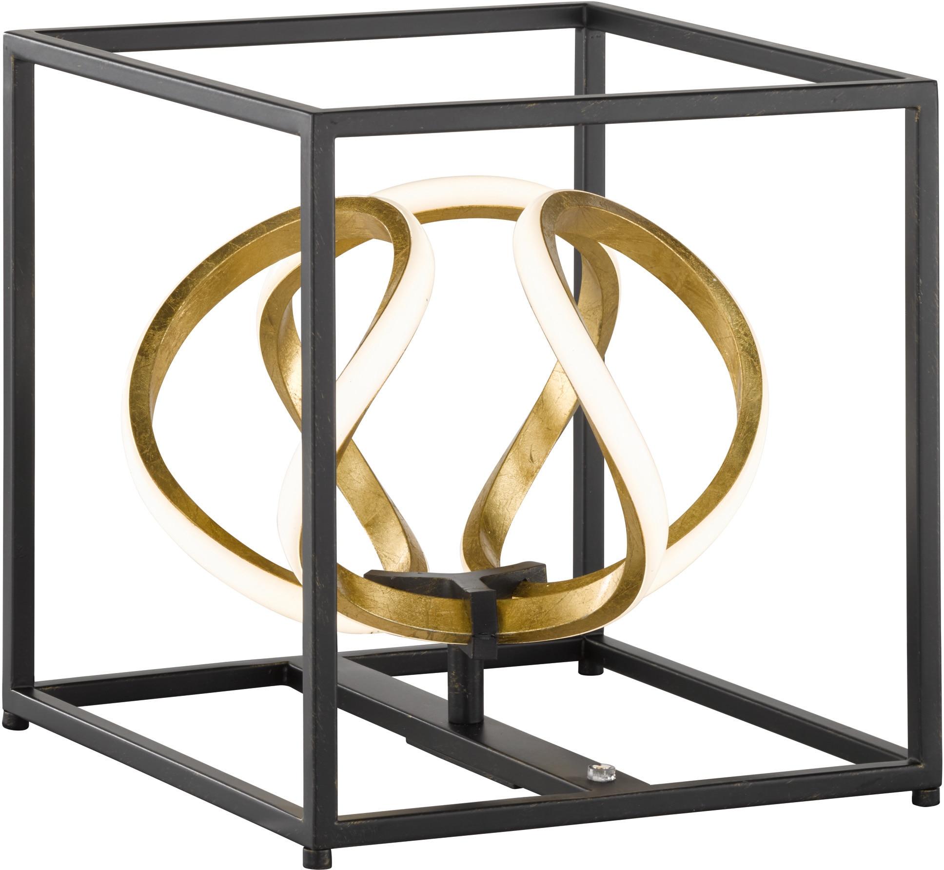 FISCHER & HONSEL LED Tischleuchte Gesa, LED-Modul, Warmweiß