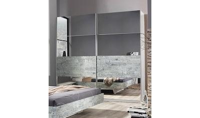 rauch ORANGE Schwebetürenschrank »Sumatra-Extra«, im Industrie-Look mit Spiegel kaufen