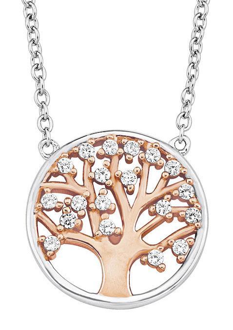 Amor Kette mit Anhänger Lebensbaum | Schmuck > Halsketten > Ketten mit Anhänger | Goldfarben | Amor