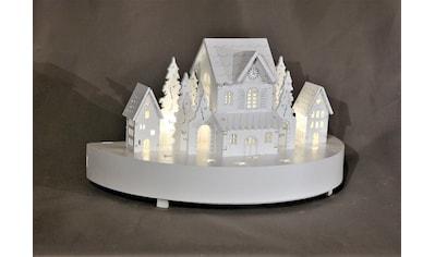 HGD Holz - Glas - Design Diorama Winterdorf kaufen