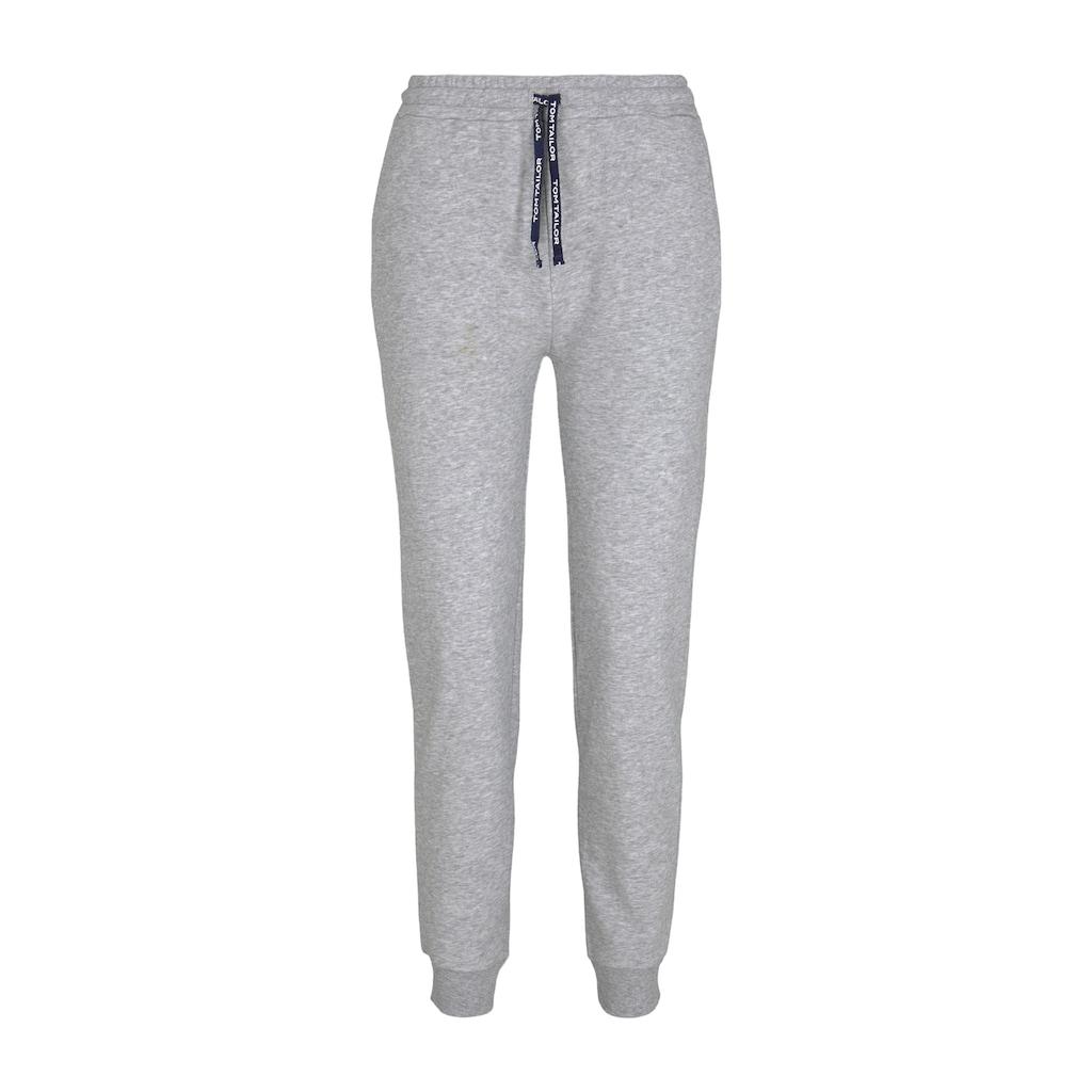 TOM TAILOR Pyjamahose »Pyjama Sweathose«