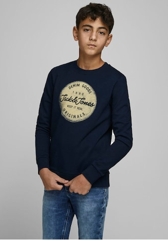 Jack & Jones Junior Sweatshirt »JORTORINO SWEAT CREW NECK« kaufen