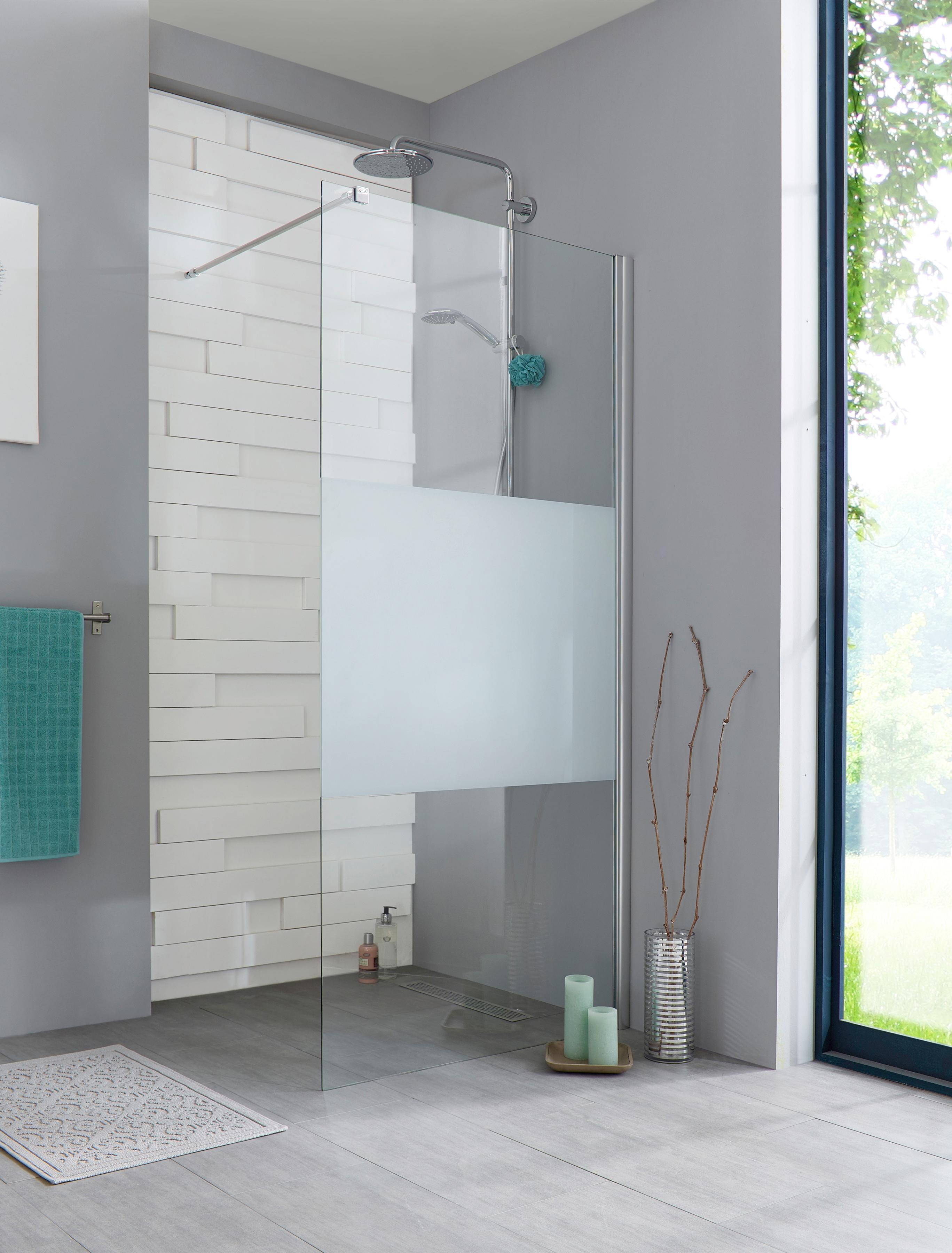Walk-In Dusche »Relax«, Duschabtrennung 100 cm günstig | BAUR