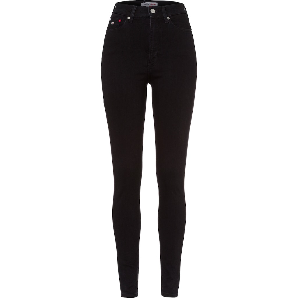 Tommy Jeans Skinny-fit-Jeans »Melany UHR Spr Skny AE672 BBS«, mit Tommy Jeans Logo-Badge
