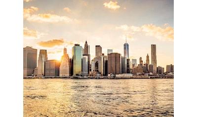 living walls Fototapete »New York City Manhattan Skyline«, Vlies kaufen