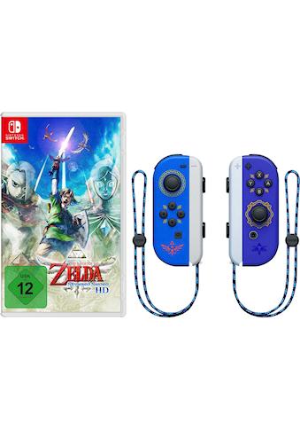 Nintendo Switch Wireless-Controller »Joy-Con 2er-Set - Zelda Edition«, inkl. The... kaufen