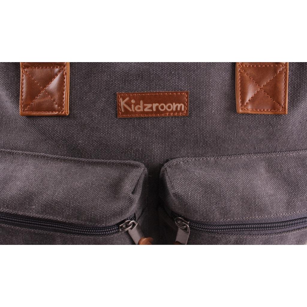 Kidzroom Wickeltasche »Vision of Love, grey«