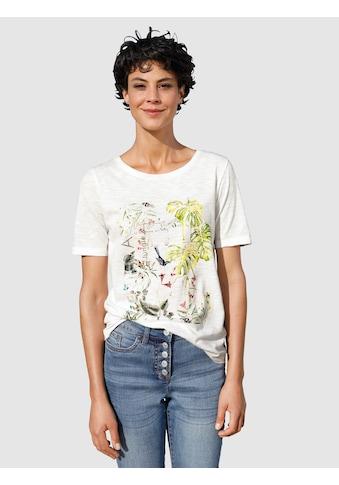 Dress In T-Shirt, mit sommerlichem Druck kaufen