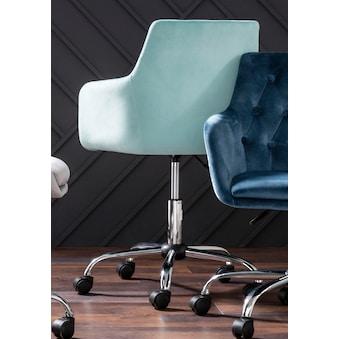 Schreibtischstuhl Perry grau Drehstühle Bürostühle Büromöbel Stühle