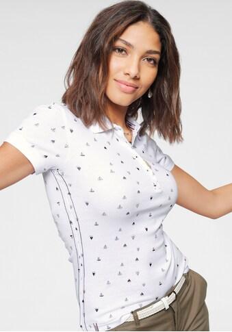 KangaROOS Poloshirt, mit maritimem Allover-Print kaufen
