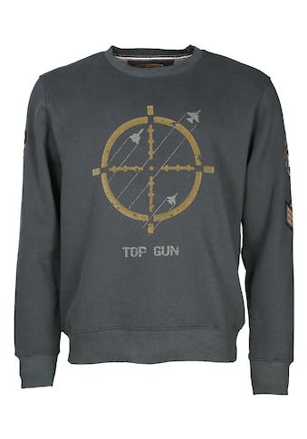 TOP GUN Rundhalspullover »Target Disc« kaufen