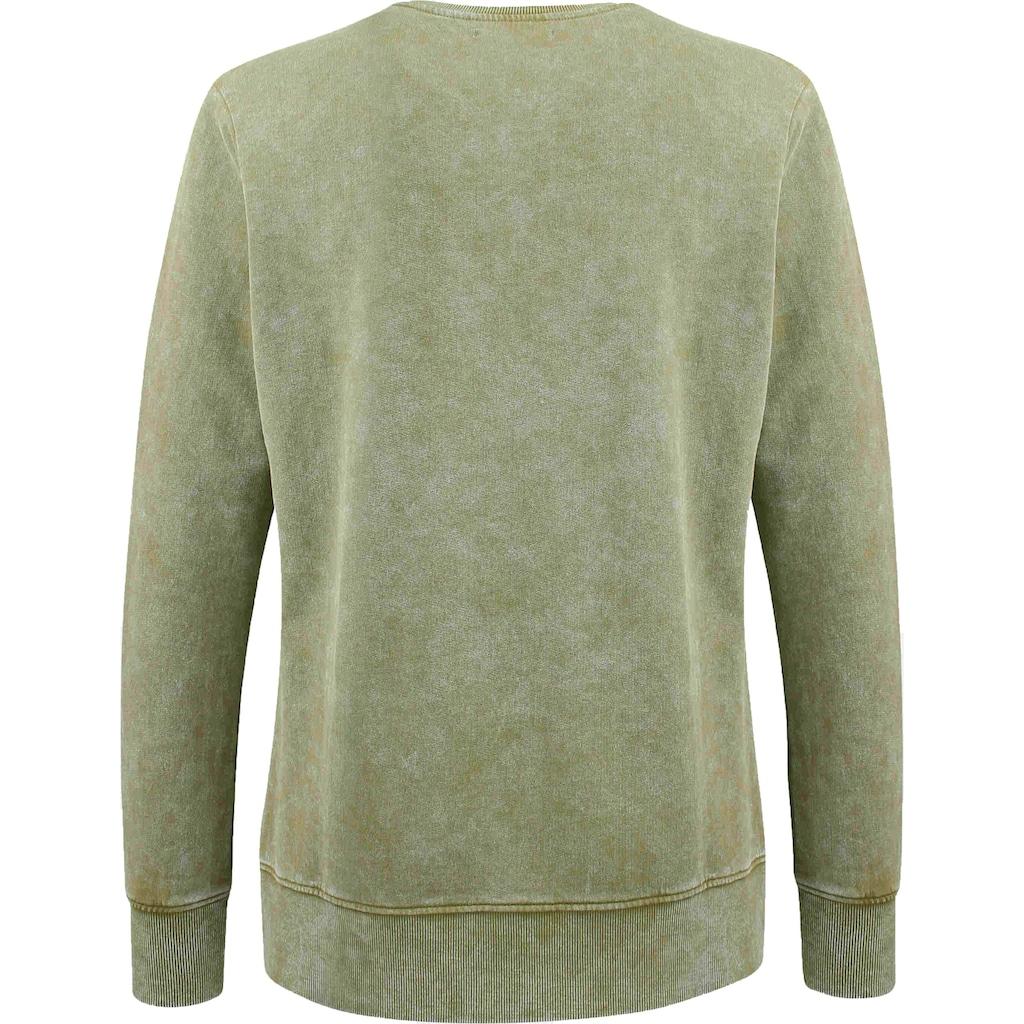 trueprodigy Sweatshirt »Curt«, mit Logodruck im Vintage Look