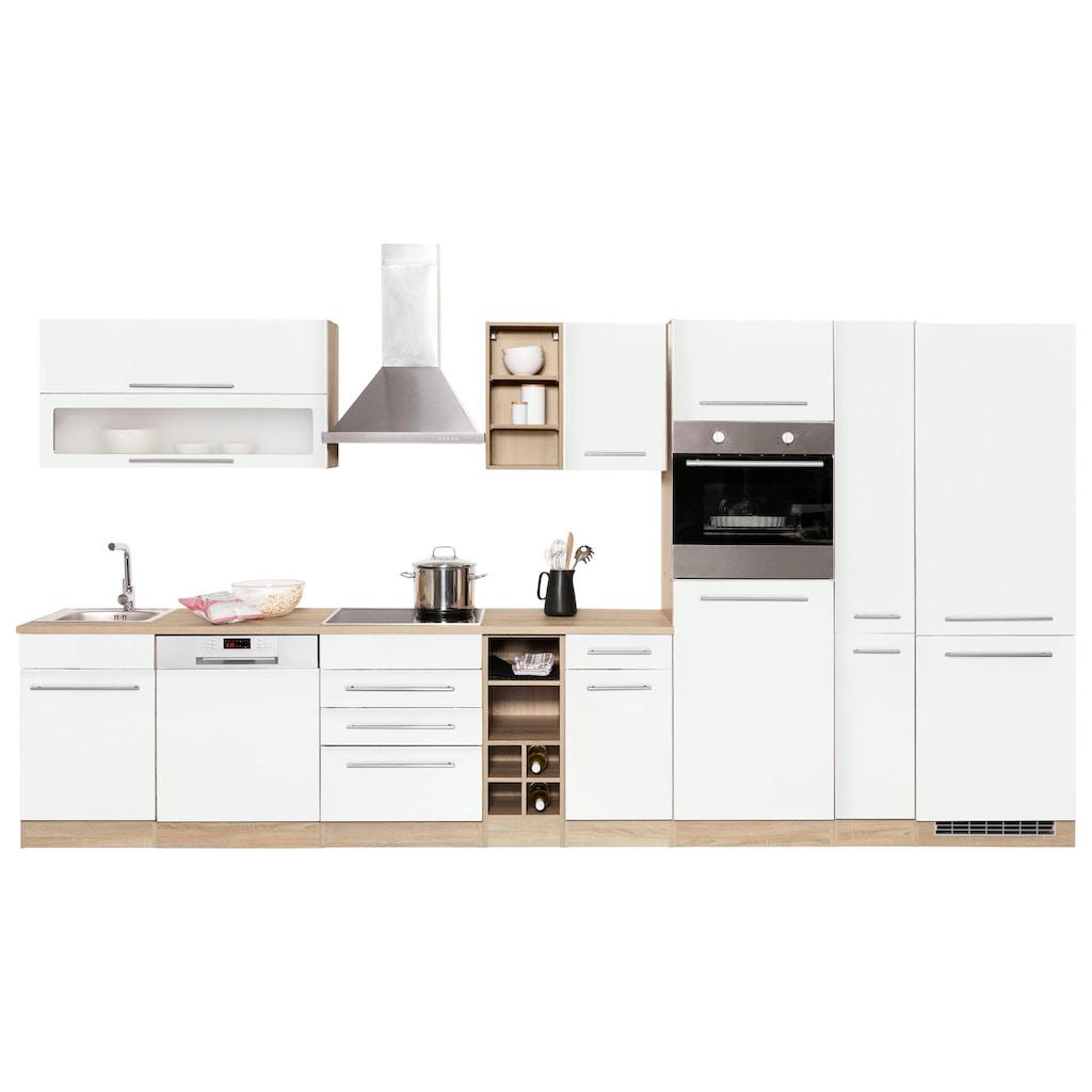 HELD MÖBEL Küchenzeile »Eton«, ohne E-Geräte, Breite 390 cm