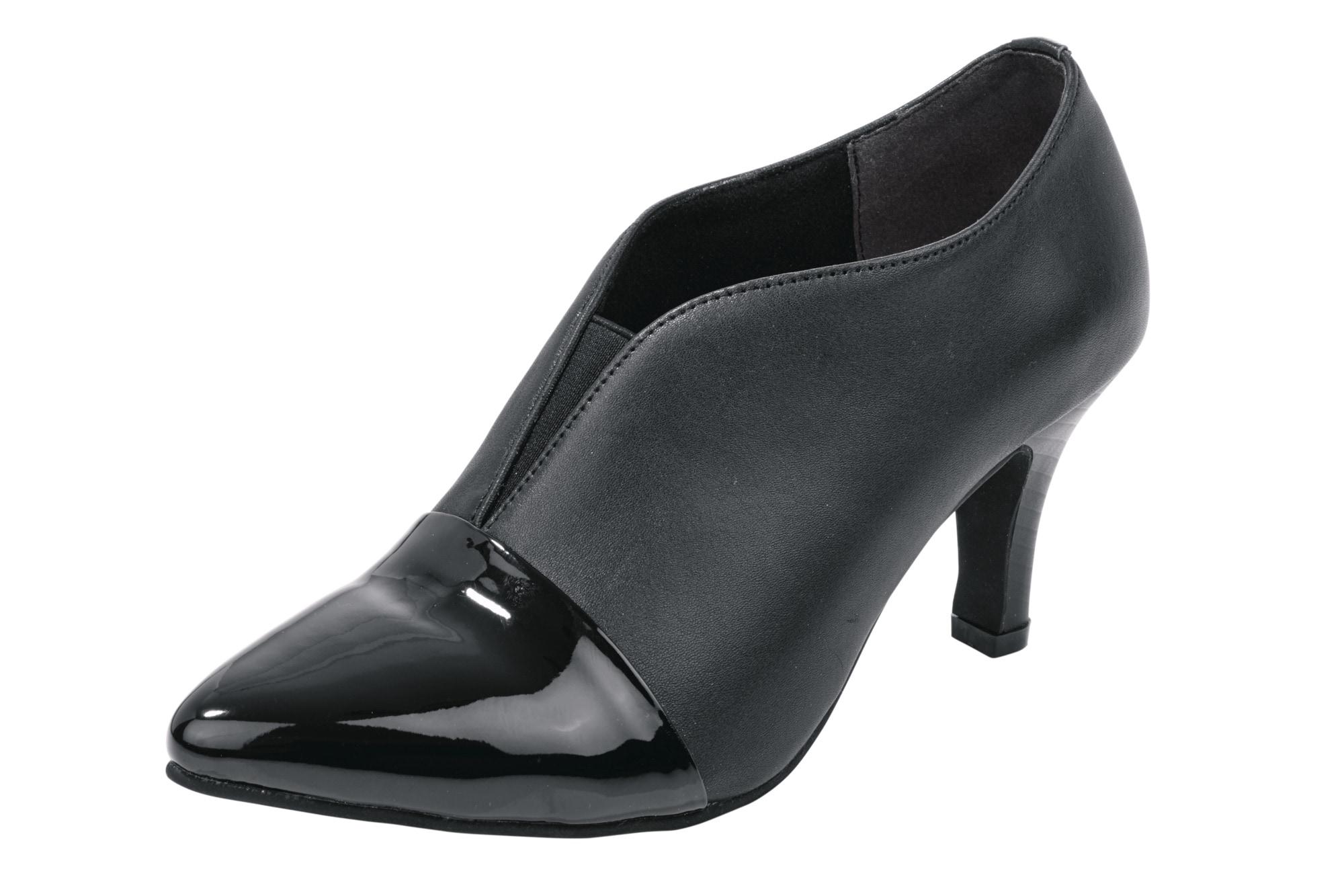 Hochfrontpumps im Materialmix | Schuhe > Pumps > Hochfrontpumps | Andrea Conti