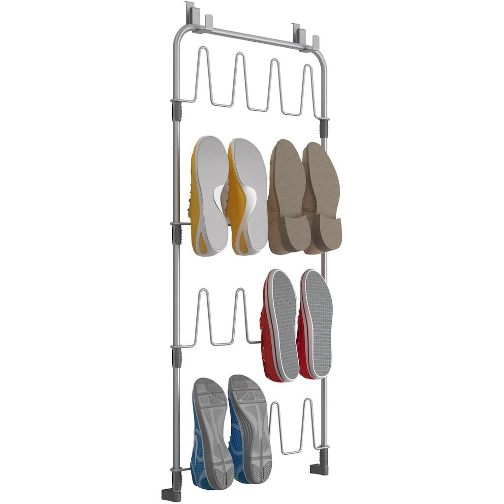 Metaltex Türregal »shoes@door«, für 8 Paar Schuhe