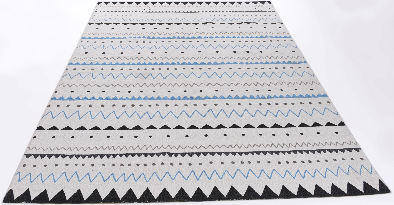 Teppich Tuxedo THEKO rechteckig Höhe 5 mm handgewebt