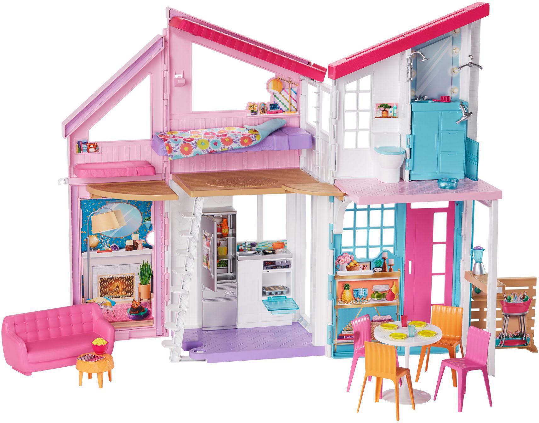 "Mattel Puppenhaus ""Barbie Malibu Puppenhaus"" Kindermode/Spielzeug/Puppen/Puppenhaus"