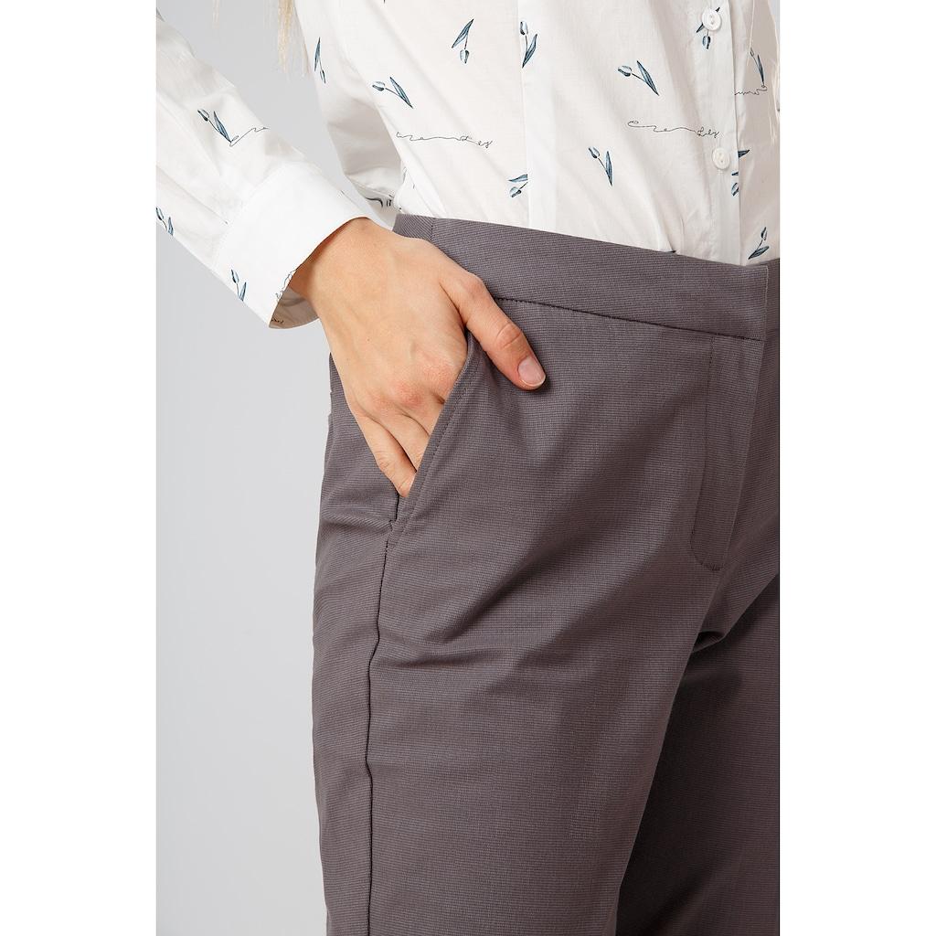 Finn Flare Stoffhose in klassischem Design