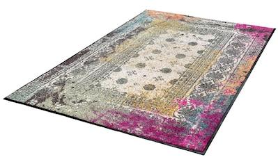 Teppich, »Taza«, wash+dry by Kleen - Tex, rechteckig, Höhe 7 mm, gedruckt kaufen