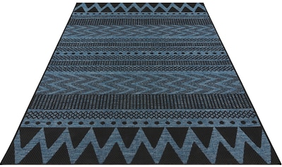 Teppich, »Sidon«, bougari, rechteckig, Höhe 4 mm, maschinell gewebt kaufen