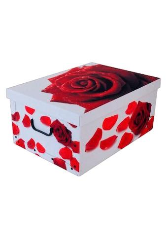 Kreher Aufbewahrungsbox »Rose Rot« kaufen