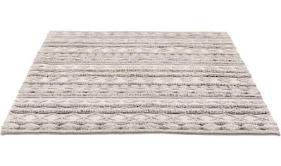 LUXOR living Wollteppich »Hägga«, rechteckig, 15 mm Höhe, reine Wolle, handgewebt,... kaufen