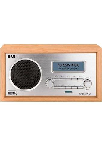 IMPERIAL Digitalradio (DAB+) »DABMAN 30«, (Digitalradio (DAB+)-FM-Tuner 5 W) kaufen