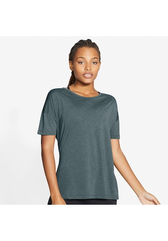 Nike Yogashirt »Dri - FIT Women's Short - Sleeve Yoga Training Top« kaufen