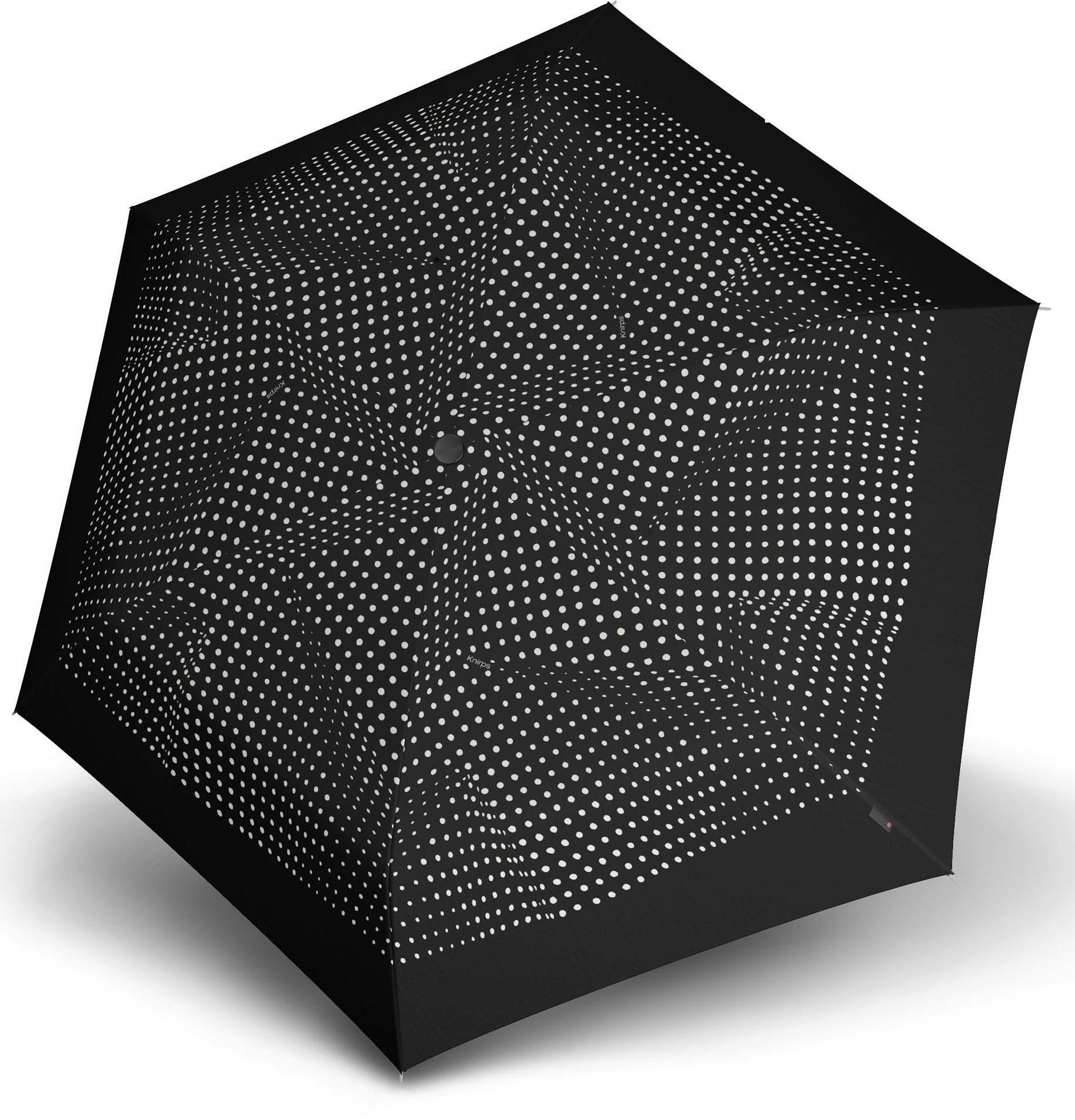 Knirps Taschenregenschirm ´´TS200 Slim Medium Duomatic bolero´´   Accessoires > Regenschirme > Sonstige Regenschirme   Schwarz   Wo   Knirps