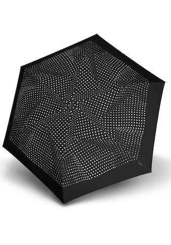 Knirps® Taschenregenschirm »TS.200 Slim Medium Duomatic bolero black/ecru« kaufen