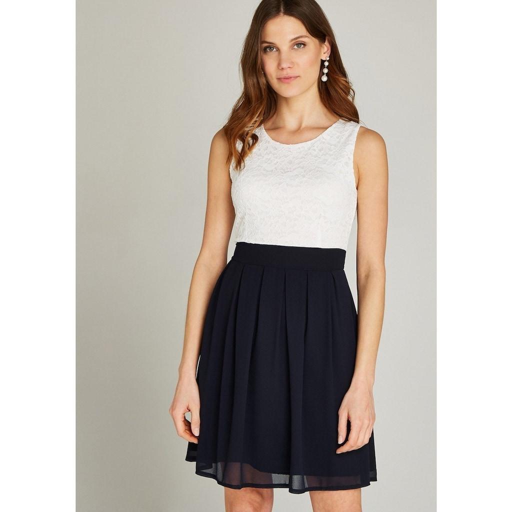 Apricot Partykleid »Lace Top Colour Block Skater Dress«, im Colour Block Dessin