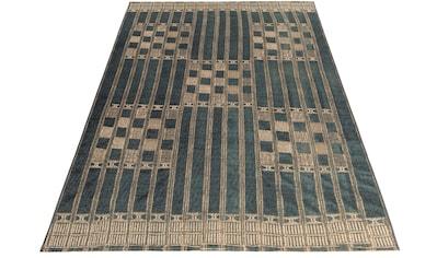 Gino Falcone Teppich »Outdoor-Africa 39«, rechteckig, 5 mm Höhe, Flachgewebe, In- und Outdoor geeignet, Wohnzimmer kaufen