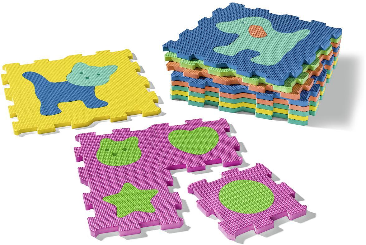 Ravensburger Puzzlematte my first play - Formen und Tiere bunt Kinder Puzzle-Zubehör Puzzle Gesellschaftsspiele