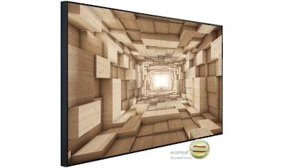 Papermoon Infrarotheizung »Abstrakt 3D Effekt«, sehr angenehme Strahlungswärme kaufen