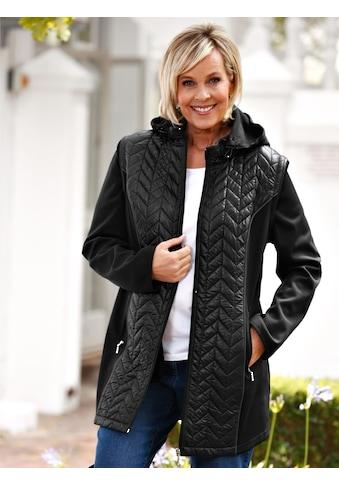 m. collection 2-in-1 Softshelljacke als Weste oder Jacke tragbar kaufen
