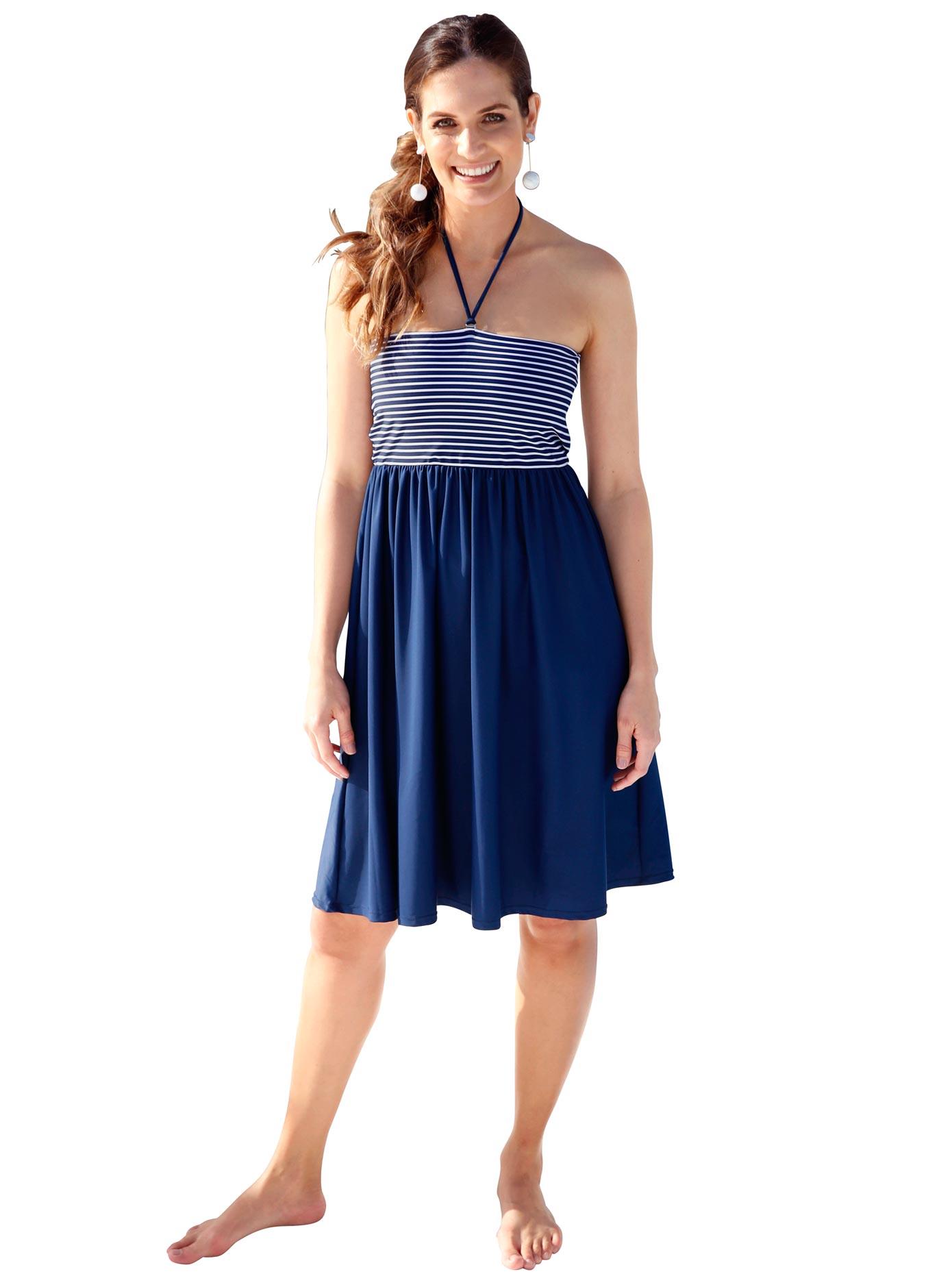 feel good Sommerkleid mit 3 Tragevarianten