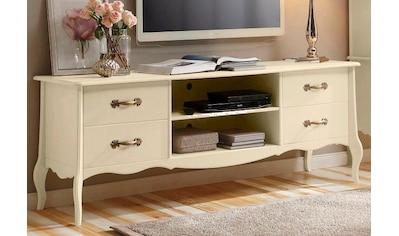 Home affaire Lowboard »Lebo«, aus massiver Kiefer, Breite: 180 cm kaufen