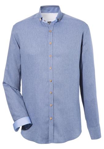 OS - Trachten Trachtenhemd in Denimoptik kaufen