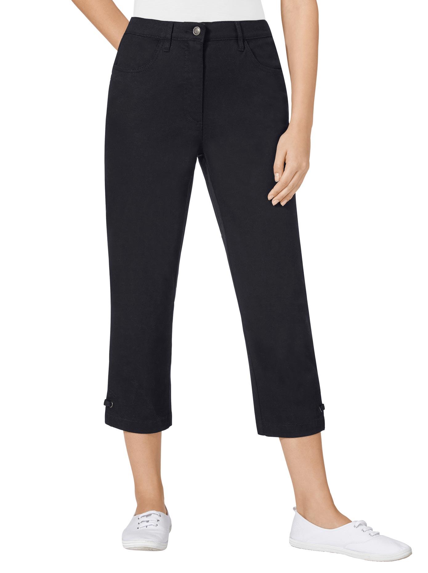 Casual Looks 7/8-Jeans mit seitlichem Dehnbund | Bekleidung > Jeans > 7/8-Jeans | Casual Looks