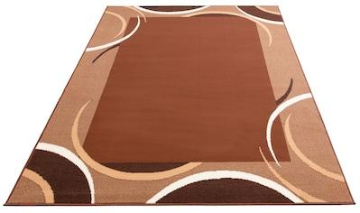 my home Teppich »Noah«, rechteckig, 7 mm Höhe, mit Bordüre, Wohnzimmer kaufen