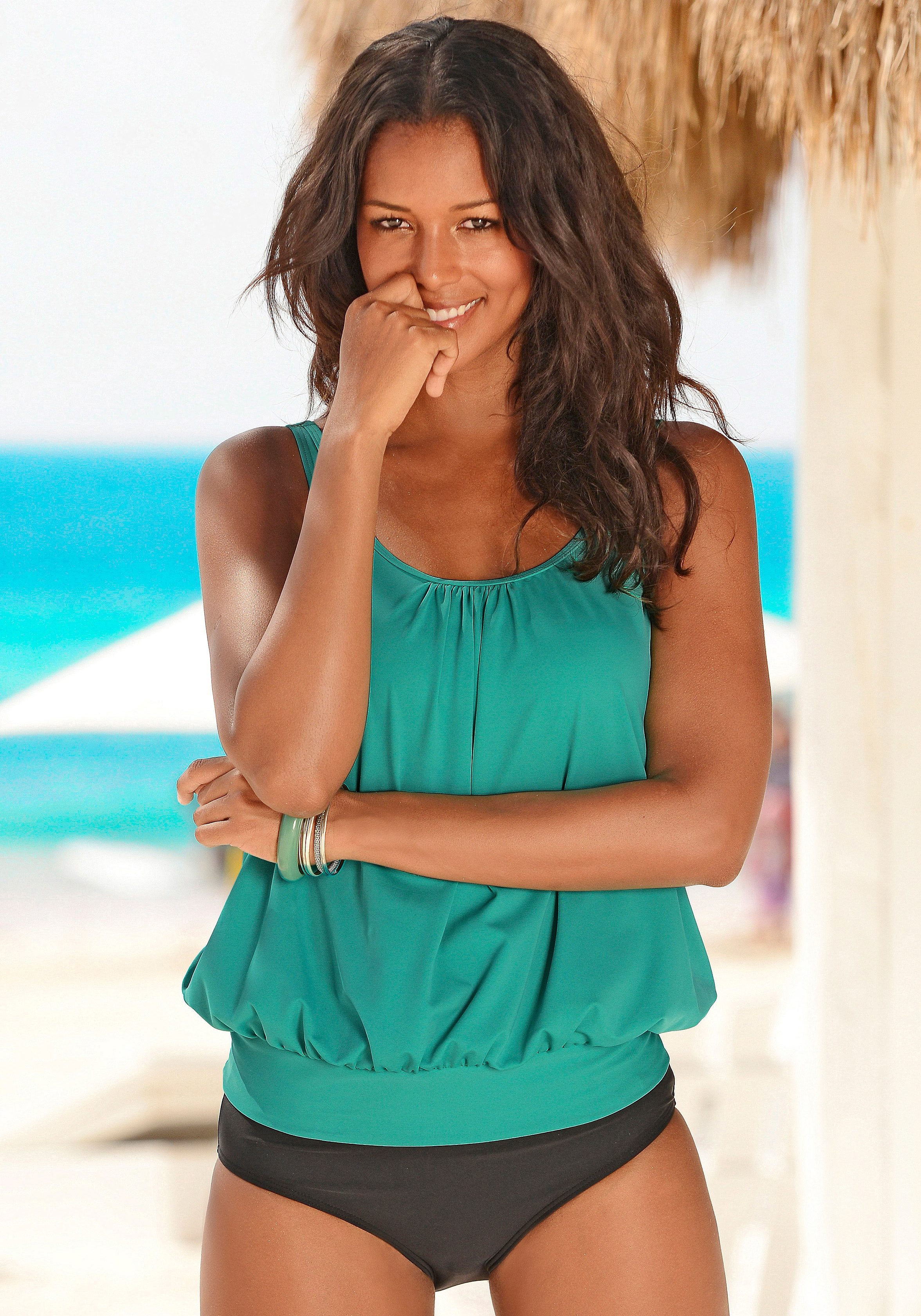 LASCANA Oversize-Tankini online bestellen | BAUR