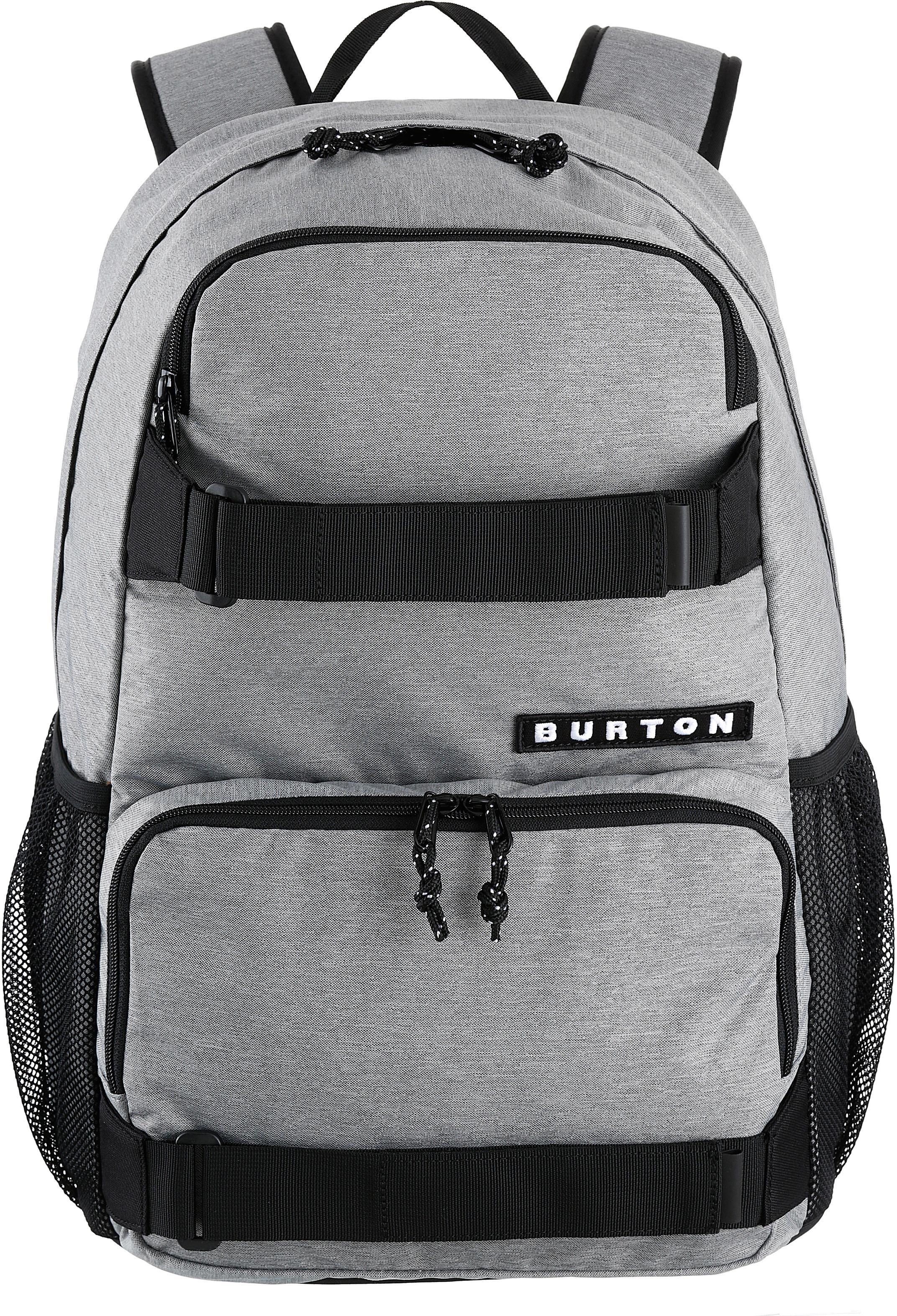Burton Rucksack mit Laptop- und Tabletfach,  Treble Yell, Grey Heather  Preisvergleich